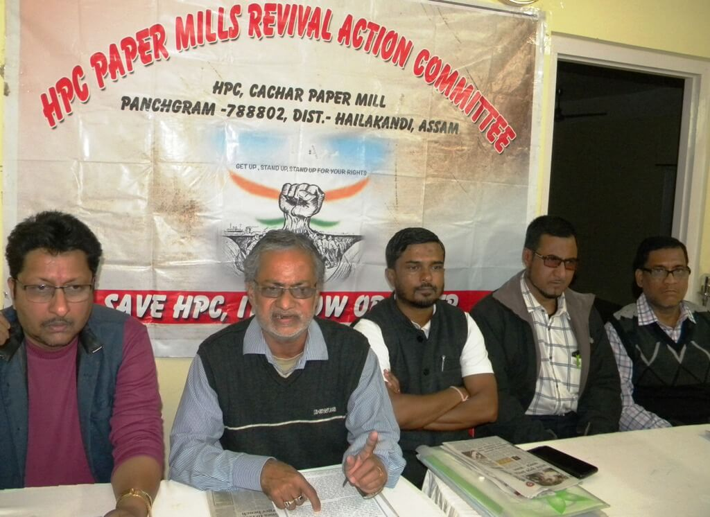 Conspiracy to sell off paper mills alleged