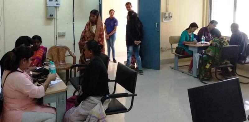 Free health camp organized in Silchar