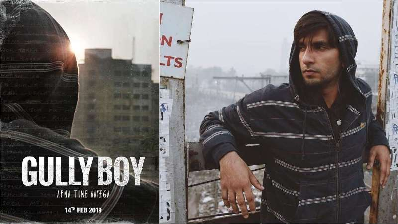 See Pics: Ranveer Singh And Alia Bhatt Share The First Look Poster From The Film Gully Boy