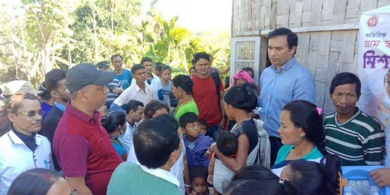Hailakandi Administration At Doorstep of Reang Community