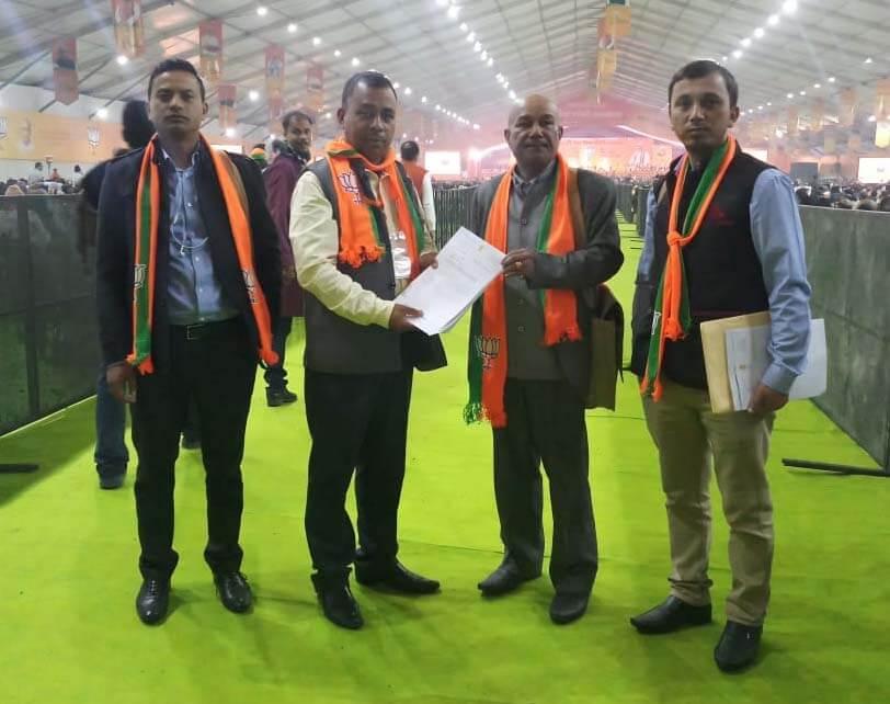 Meghalaya BJP submits memorandum to PM Modi opposing CAB