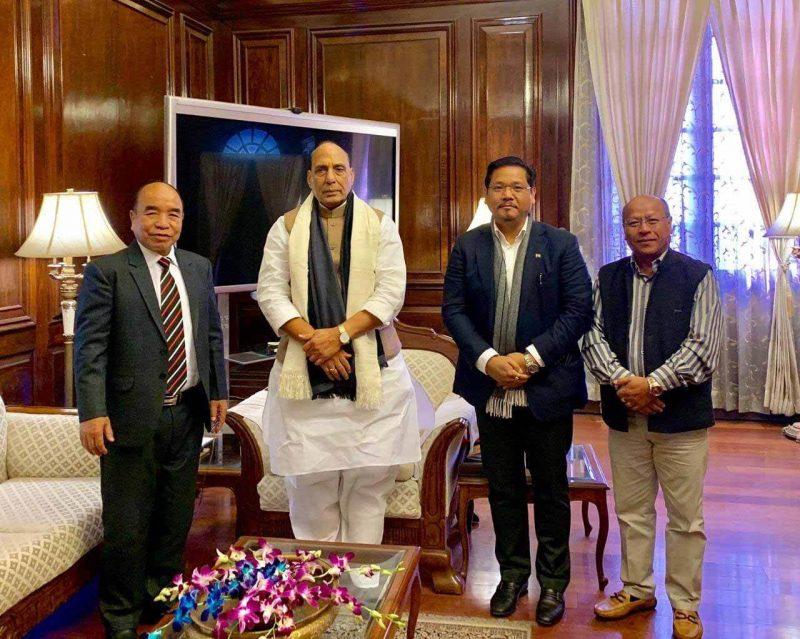 Meghalaya And Mizoram CMs Meet Rajnath Singh, Express Unhappiness Over Citizenship Bill