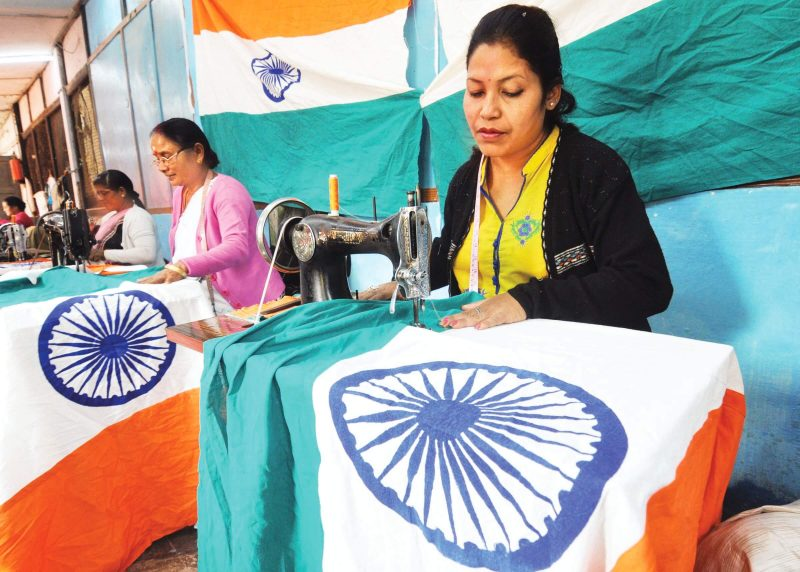 Celebrating Republic Day With Khadi Tricolours Flags