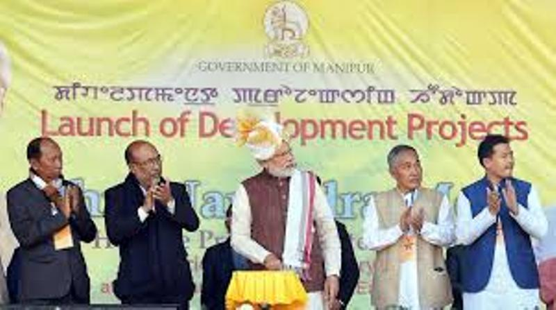PM Narendra Modi Inaugurates Huge Infrastructure Projects At Moreh and Imphal