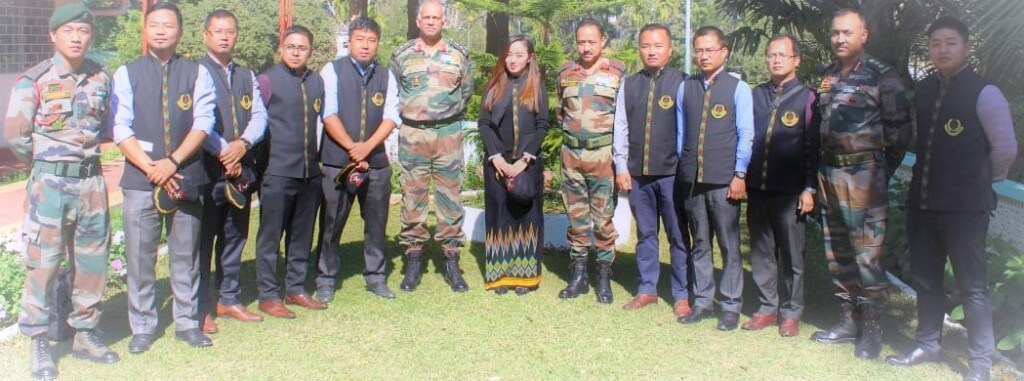 Mizoram Civil Services Nine probationers visit Counter Insurgency and Jungle Warfare School