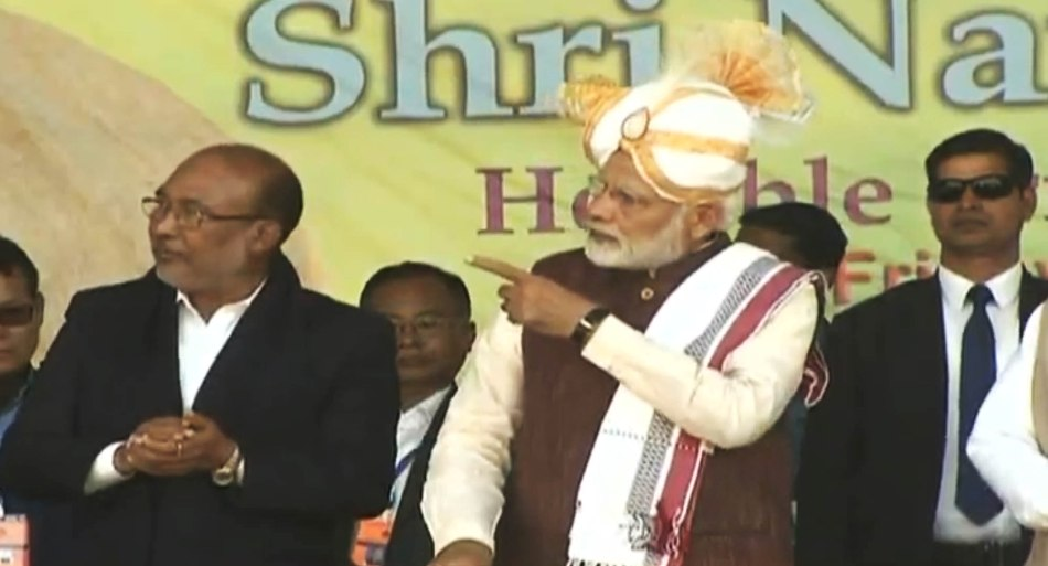 Manipur: PM Modi inaugurates 8 major development projects, lays foundation stone for 4 new schemes