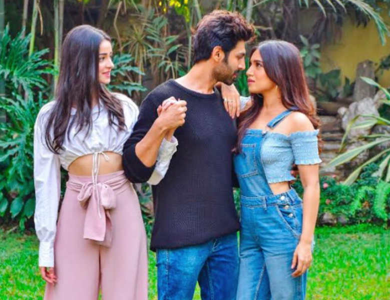 Pati Patni Aur Woh: Watch Kartik Aaryan Team Up With Ananya Panday And Bhumi Pandekar