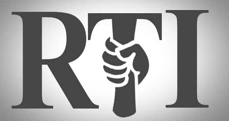 Over 12.33 lakh Right to Information (RTI) Pleas Received