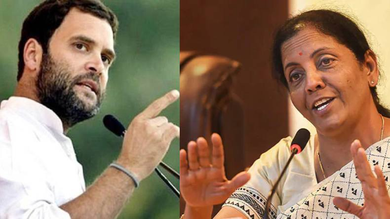 NCW to send notice to Rahul over remark on Sitharaman