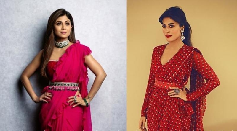 Shilpa Shetty And Chitrangada Singh Shows How To Drape A Romantic Ruffle Saree