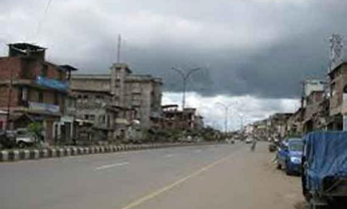 Normal life hits in Manipur with the 24 hour strike