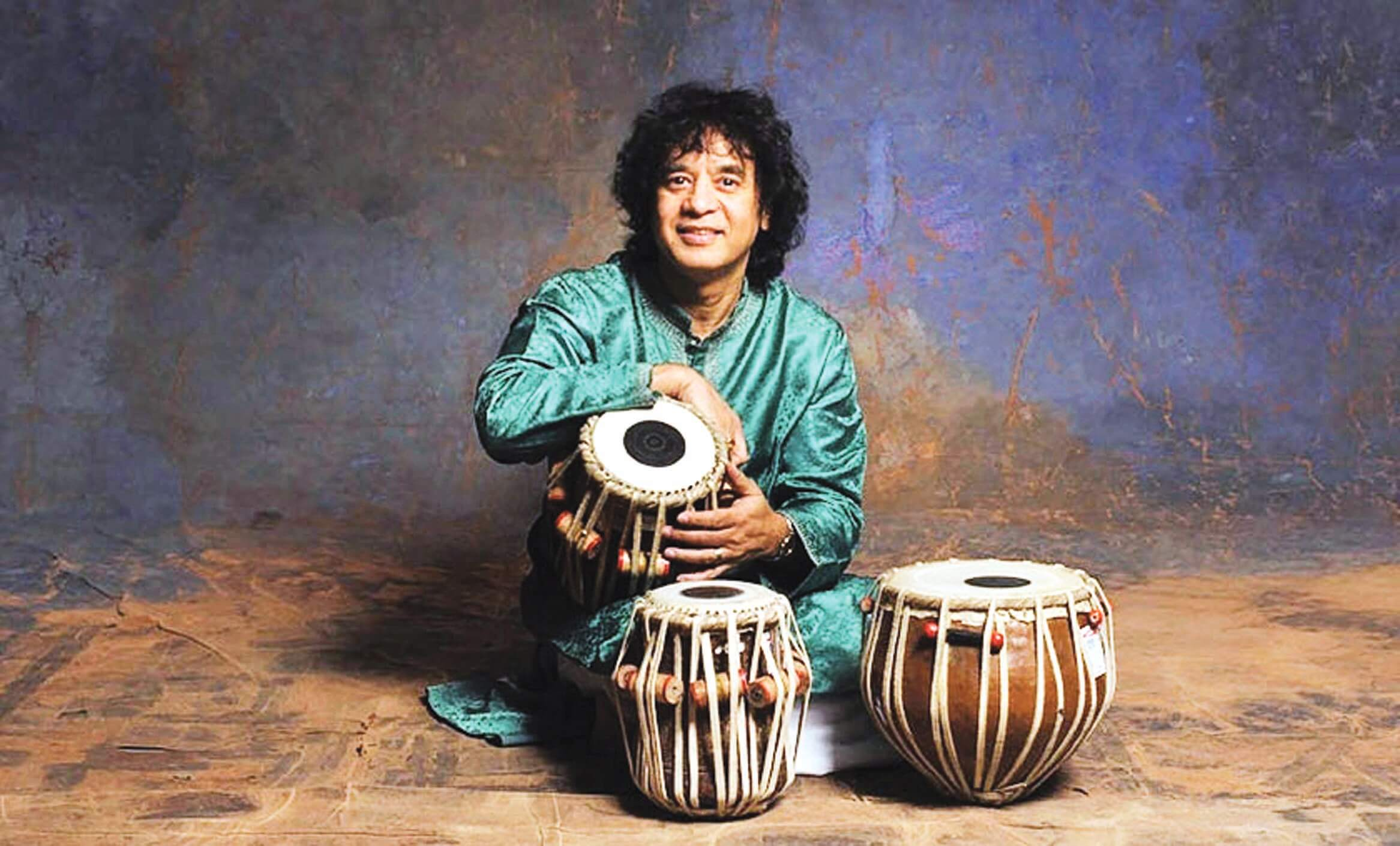 Tabla has been my mate since I was a baby: Zakir Hussain