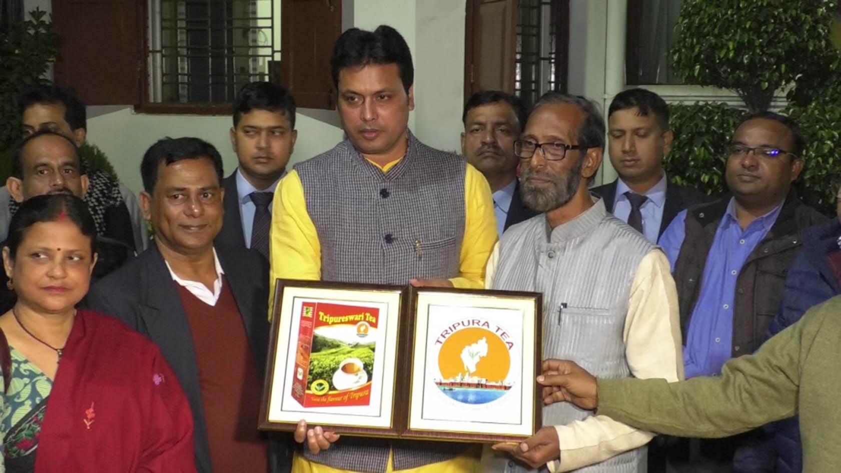 Tripura government unveils official logo for its tea