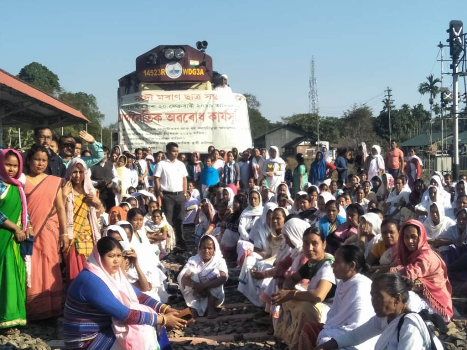 AMSU Indefinite Economic Blockade hits normal life in Assam