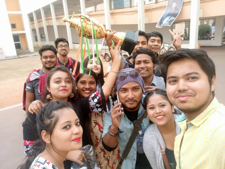Cotton University Shines In IIT Kharagpur Spring Festival 2019
