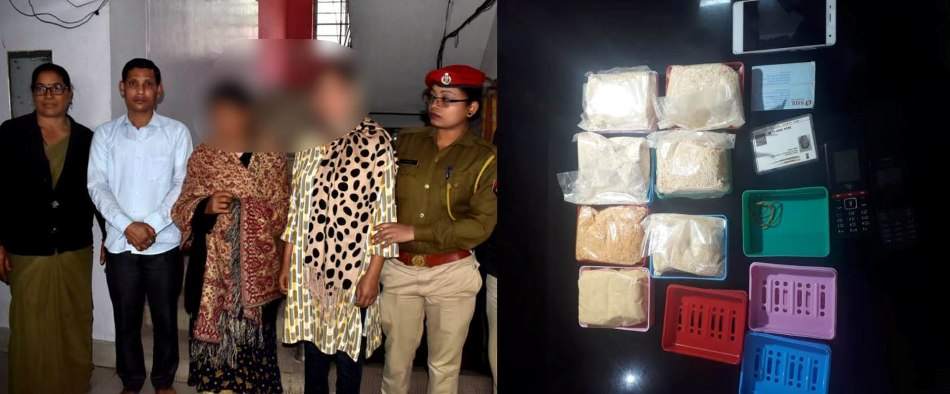 Drug peddlers from Manipur arrested in Guwahati