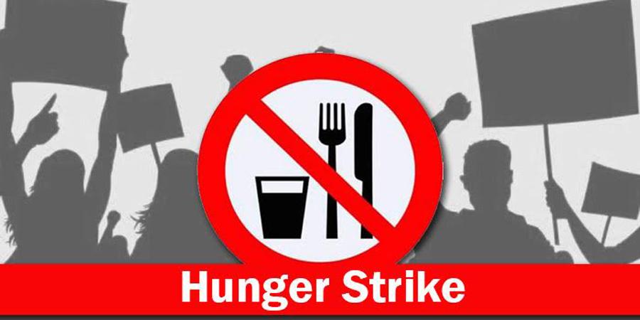 Guwahati University PG Students Stage Hunger Strike