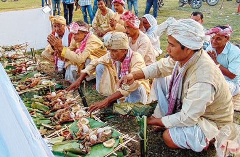 Mae Dam Mae Phi celebrations in the city on Thursday