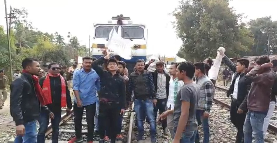 Police detain 30 protesters of Chutia Students