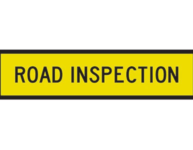 Road inspection in Shillong