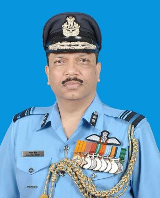 Air Marshal Sandeep Singh takes over as Senior Air Staff Officer in Shillong