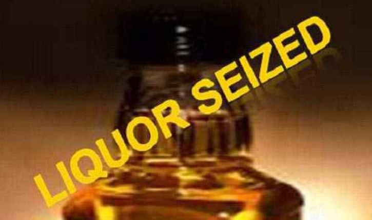 Illicit liquor seized in Shillong