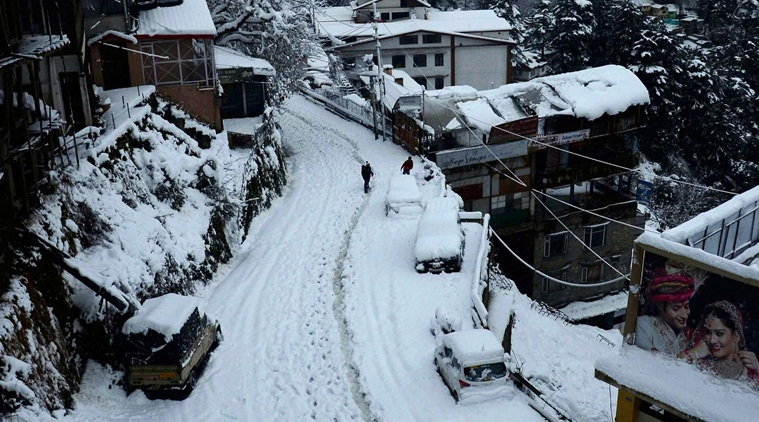 Shimla sees coldest night in 11 years, Manali 9 years
