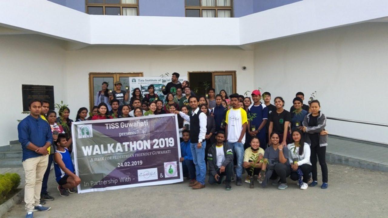 Tata Institute of Social Sciences organised WALKATHON 2019