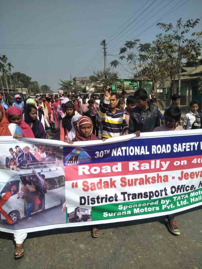 30th Road Safety Week gets underway in Hailakandi