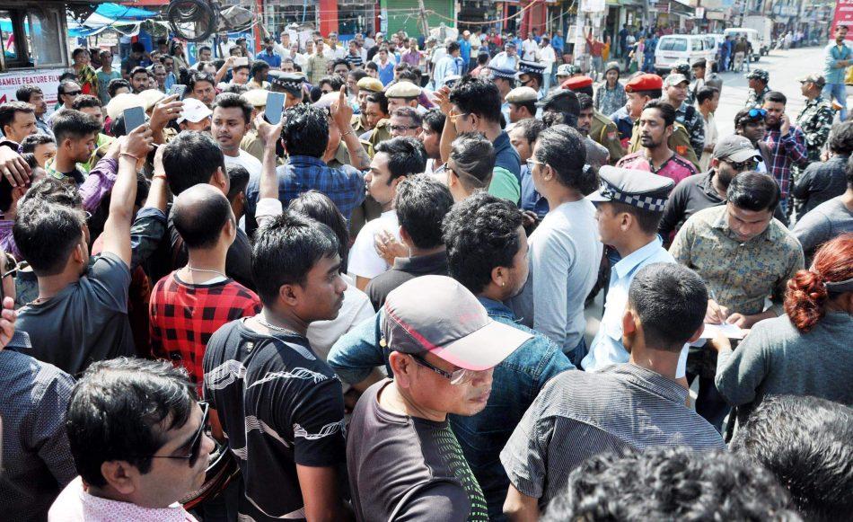 Assam artists bear the brunt in Itanagar