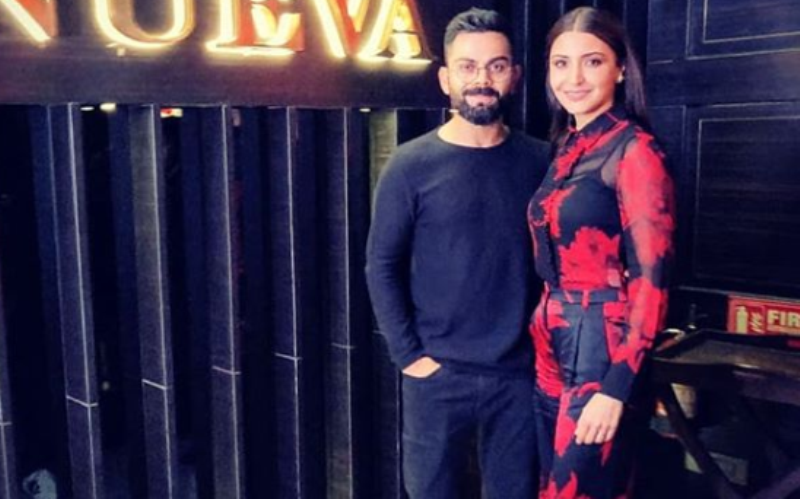 Know All About Anushka Sharmas Valentine Day Look In Red And Black Outfit - Read Here