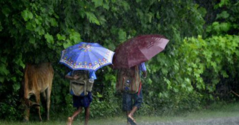 Assam In For Showers During Next Few Days