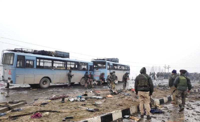 Suicide Attack on Central Reserve Police Force (CRPF) In Jammu and Kashmir