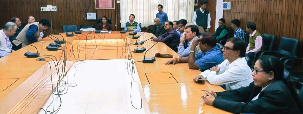 Cachar DC Laya Madduri convenes meeting, addresses burning issues