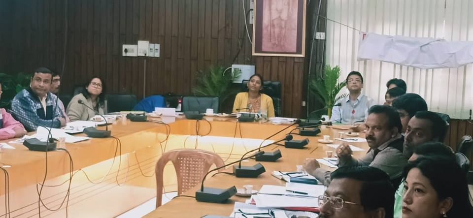 Meet held to review status of educational scenario of Cachar