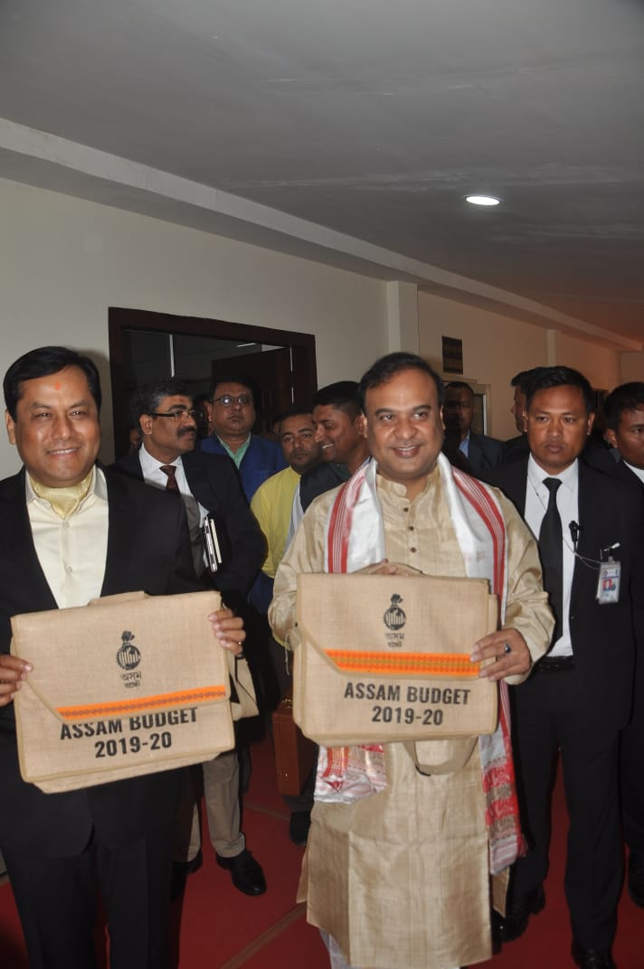 Finance Minister Himanta Biswa Sarma presents Rs 1,193-cr deficit Budget