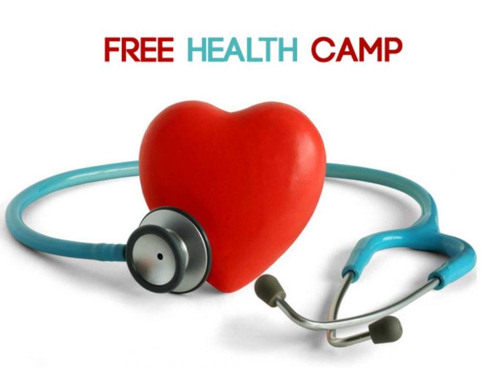 Health Check Camp organized at Holy Eucharist church