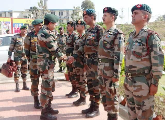 Lt General Rajeev Sirohi visits Srikona