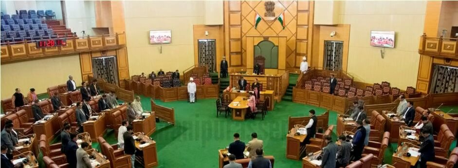 Finance Minister presented budget in Manipur Assembly