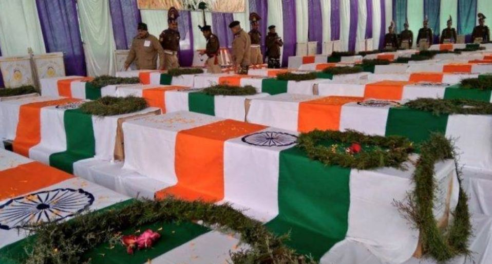 Tributes Paid to Pulwama Martyrs in Arunachal