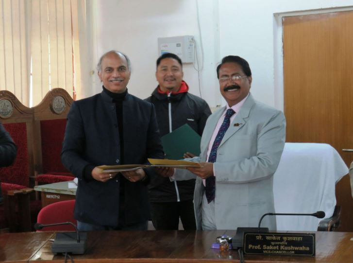 Rajiv Gandhi University signs MoU with School of Planning and Architecture