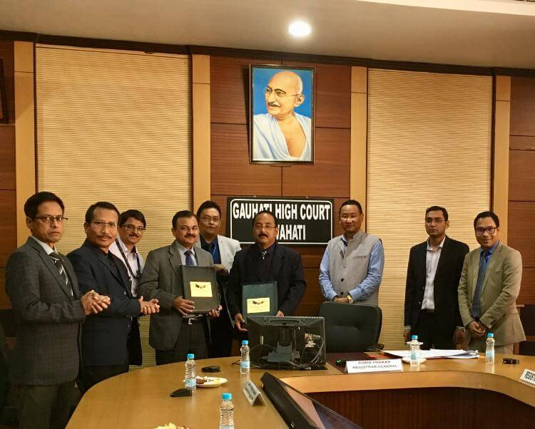 SBI signs MoU with Gauhati High Court