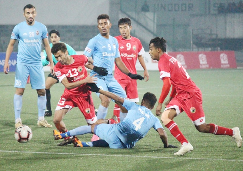 Shillong Lajong FC Beat Churchill Brothers By 3-2