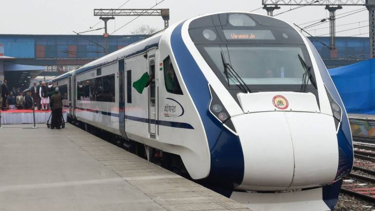 Air Hostesses to give Flight-Like Service on Board Vande Bharat Express