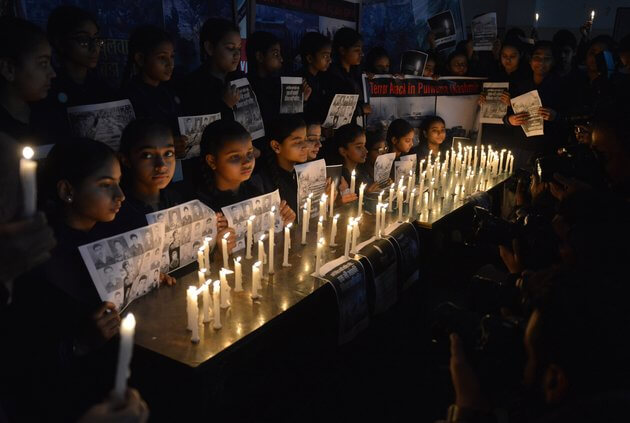 Residents of Games Village Pays Homage to Martyred CRPF Jawans