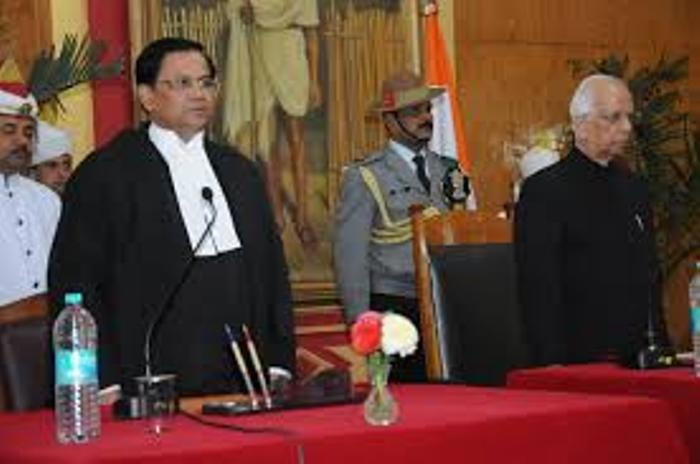 Uma Nath Singh sworn in as first Nagaland Lokayukta