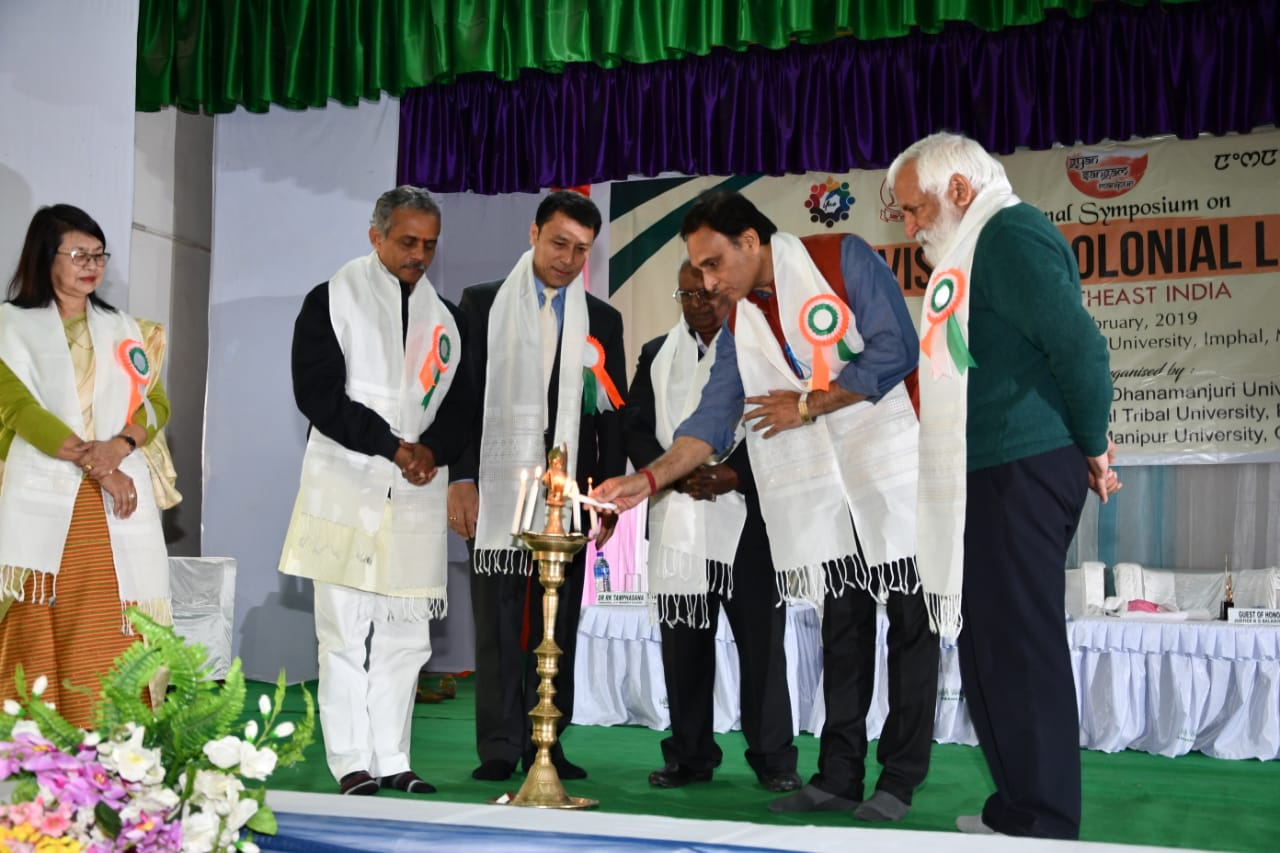 Northeast is centre of cultural gravity, asserts MP Rakesh Sinha at National Symposium in Manipur