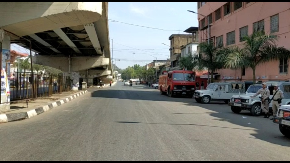 36 hours Manipur Bandh hits normal life