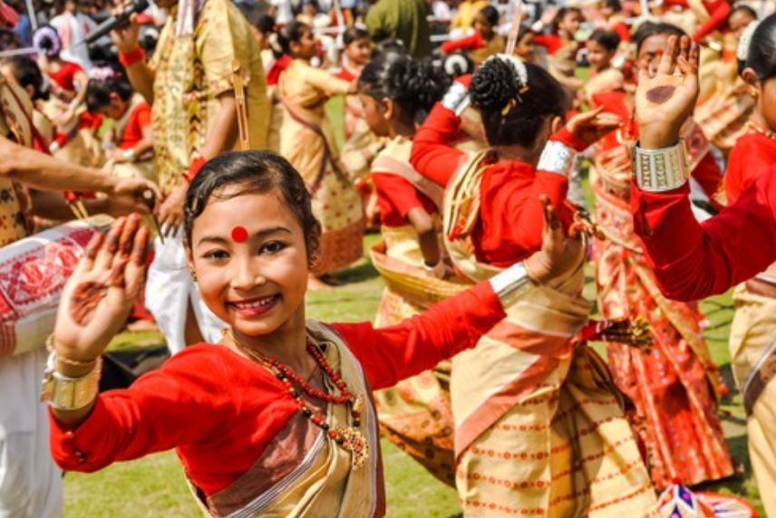 The Bihu fervour grips the state with dhol and pepa