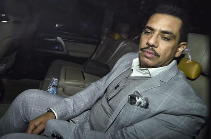 Robert Vadra Appeared Before The ED For Questioning